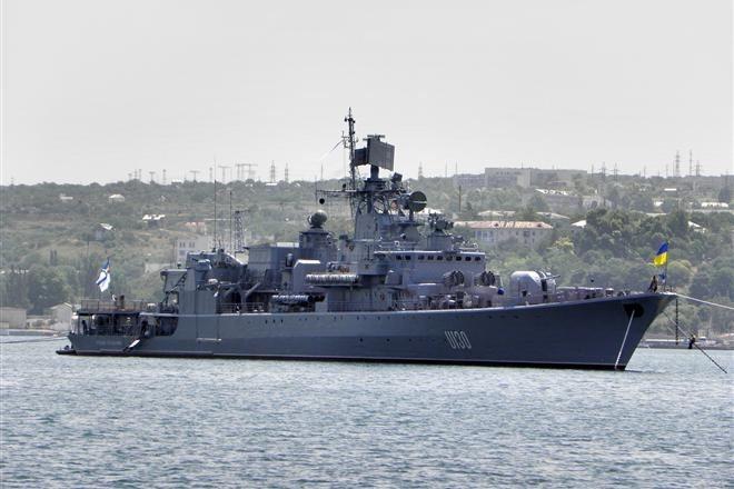 Последний украинский корабль в Крыму захвачен российскими военными