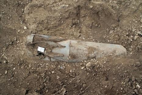 В Житомире обнаружена мина времен Великой Отечественной войны