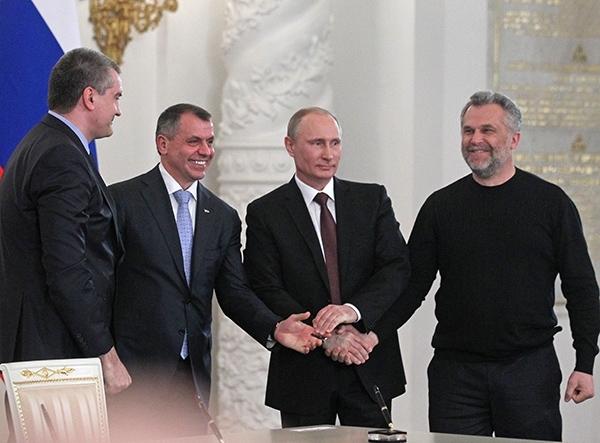 Владимир Путин подписал аннексию Крымского полуострова