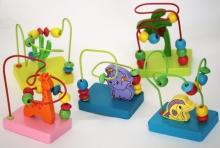 игрушка пальчиковый лабиринт деревянный