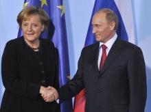 Путин решил заручиться поддержкой Меркель