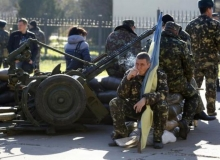 Внутренние войска Украины, находящиеся в Крыму, вышли из полуострова